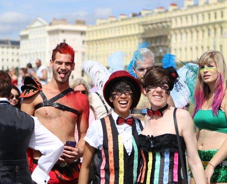 The Brighton Pride Parade