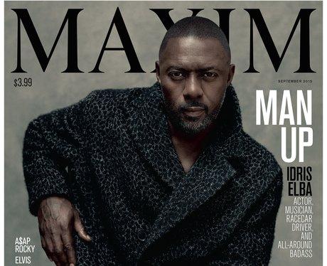 Idris Elba covers Maxim Magazine