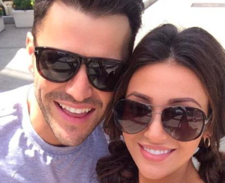 Mark Wright and Michelle Keegan stateside Twitter