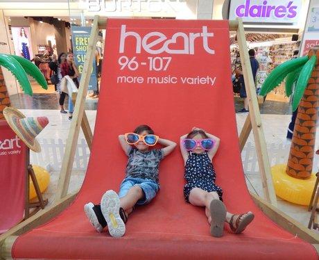 Heart Angels: Giant Deckchair - Bluewater (14th Au