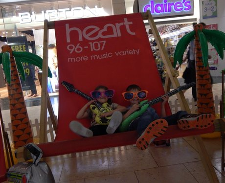 Heart Angels: Giant Deckchair - Bluewater (14th Au