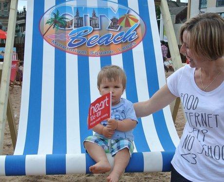 Leeds City Beach