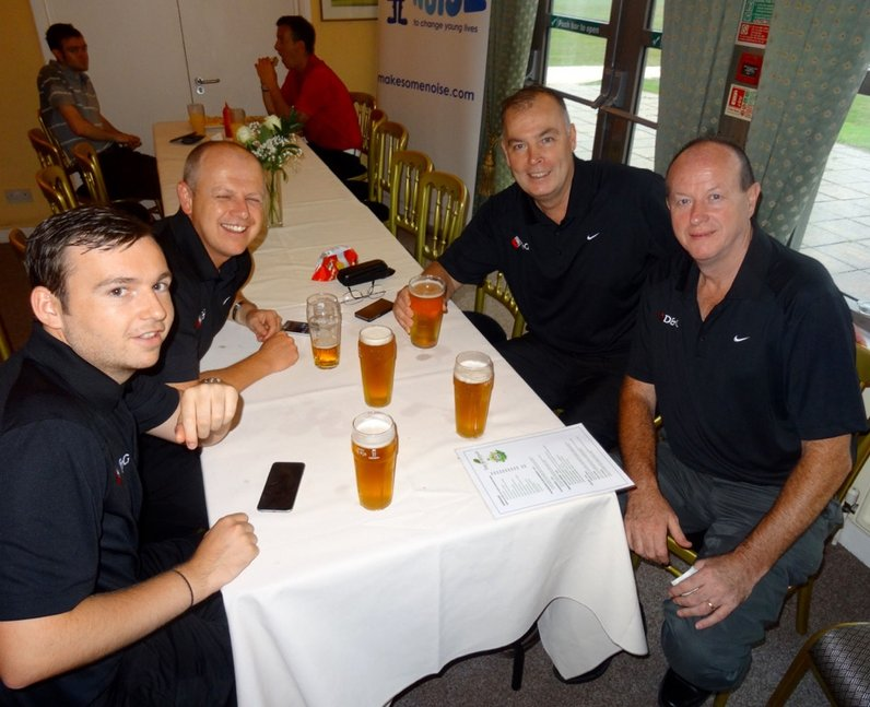 Make Some Noise - Burstead Charity Golf Day