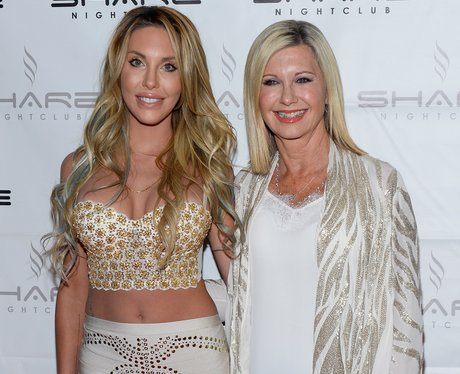 Olivia Newton John and daughter Chloe Lattanzi
