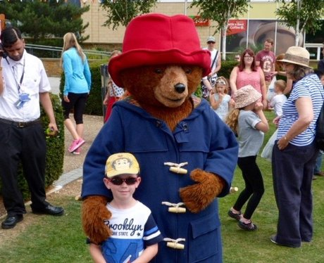 The Heart Angels helped to welcome Paddington Bear