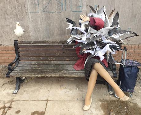 Dismaland seagull