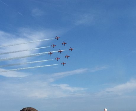 Heart Angels at Eastbourne Airshow 2015