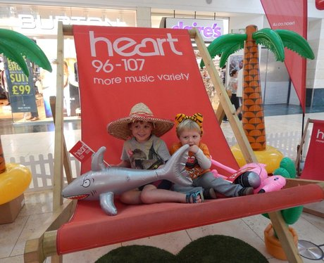 Heart Angels: Giant Deckchair - Bluewater (16th Au