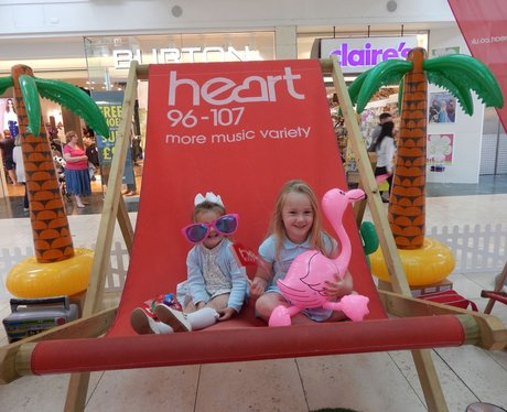 Heart Angels: Giant Deckchair - Bluewater (16th Au