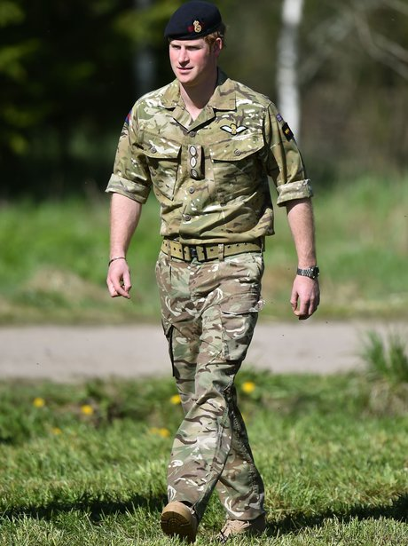14++ Prince Harry Army Uniform