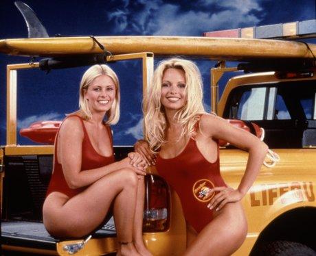 Nicole Eggert and Pamela Anderson