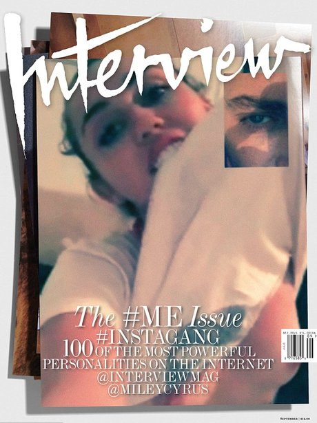 interview mag ME cover