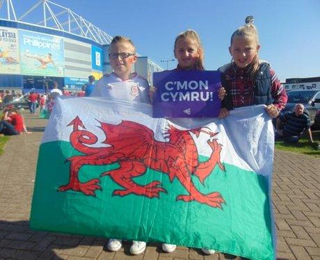 Wales v Isreal 2015