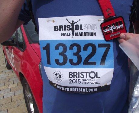 Heart Angels: Bristol Half Marathon 13/09/15 The D