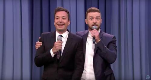 Jimmy Fallon and Justin Timberlake 'History Of Rap