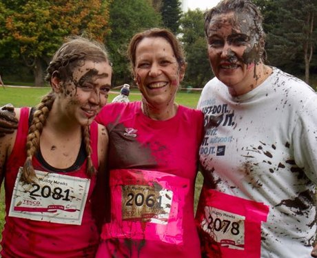 Race For Life Pretty Muddy Cardiff September 2015: