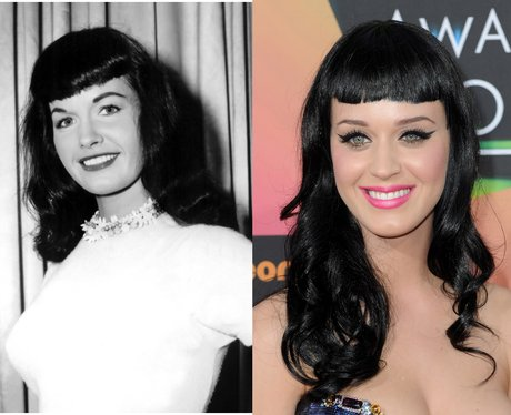 Bettie Page Katy Perry