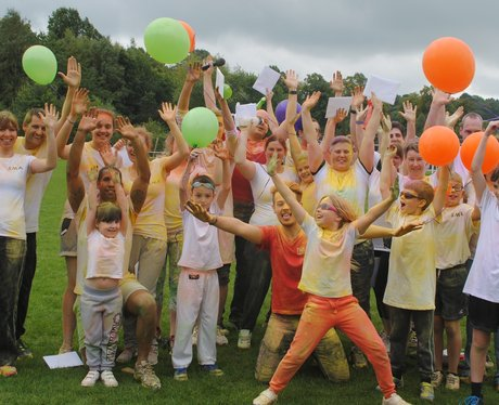 Leeds Colour Run 2015