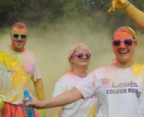 Leeds Colour Run 2015