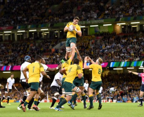 Rugby World Cup 2015 - Pool A - Australia v Fiji -