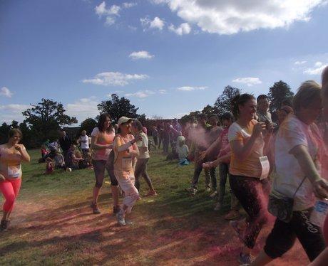 Heart Angels: Bristol Colour Run 27th Sept 2015