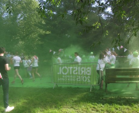 Heart Angels: Bristol Colour Run 27th Sept 2015