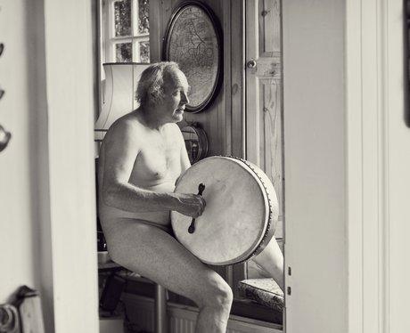 Men pose naked for charity calendar