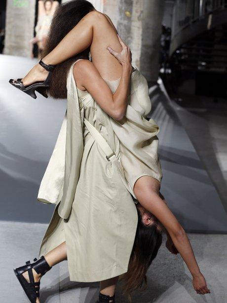 Rick Owen Paris Fashion week Getty