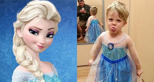Frozen Elsa Halloween Caiden