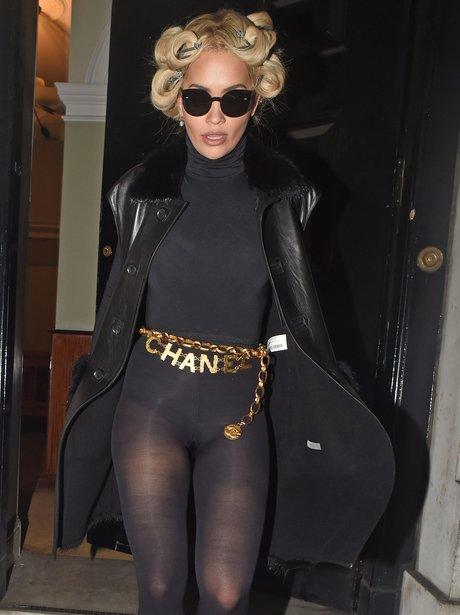 Rita Ora Curly Hair Marilyn Monroe Look