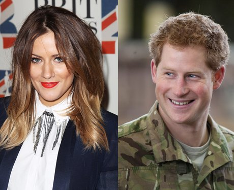 Caroline Flack and Prince Harry split canvas