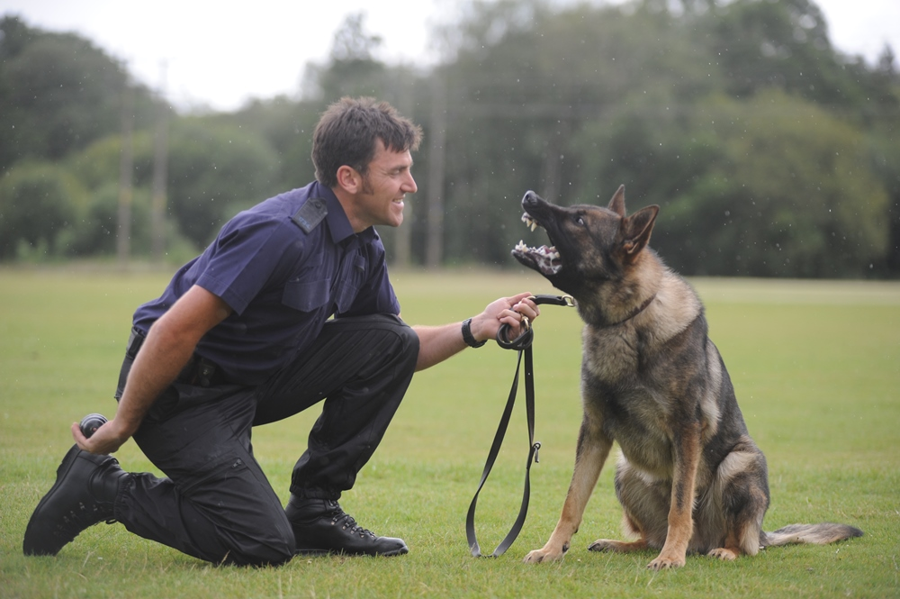 Sergeant Andy Wallbridge and Acer