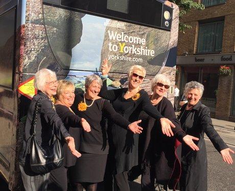 Calendar Girls Visit Rehearsals For 'The Girls' In London