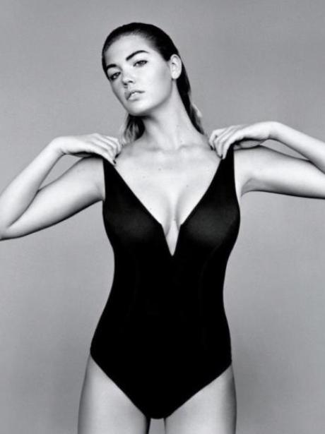 Kate Upton British Vogue Magazine 2015