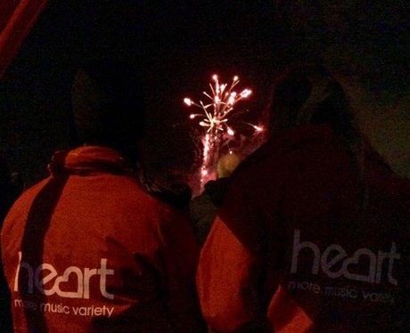 Caerphilly Fireworks 2015