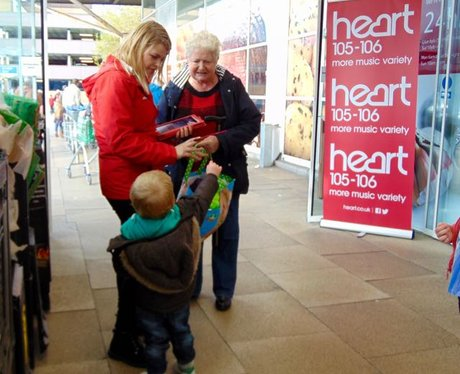 Heart Loves Tesco Swansea Marina!