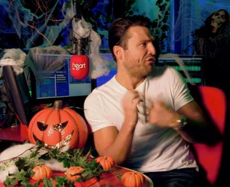 Mark Wright Heart Halloween