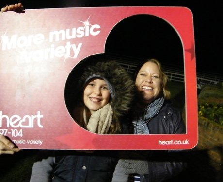 Heart Angels at Lingfield Bonfire