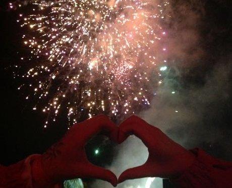 Heart Celebrates Sparks in the Park!