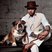Image 4: Lewis Hamilton ad his dog roscoe