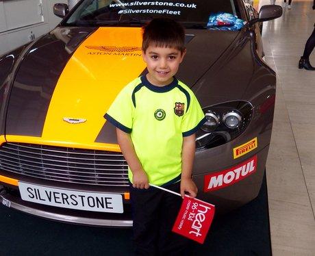 Silverstone Surprise Stunt 2015