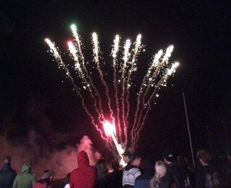 Tenby Fireworks 2015