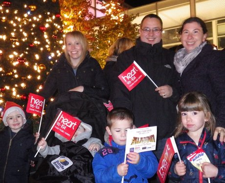 Centre:mk Christmas Light Switch On 2015