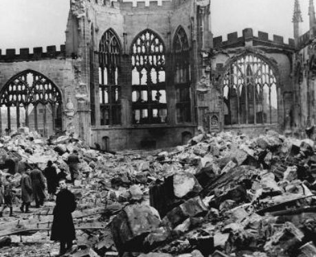 Coventry Blitz - Cathedral Ruins