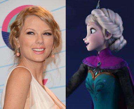 Celebrities as Disney Princesses