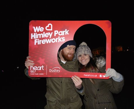 Fireworks at Himley Hall