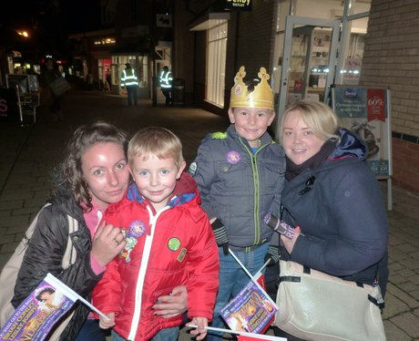 Freeport Braintree Christmas Light Switch On 2015