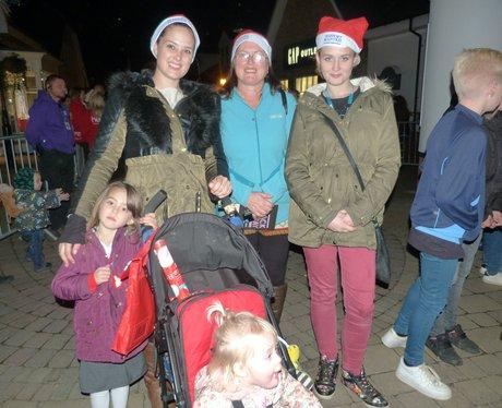 Freeport Braintree Christmas Light Switch On 2015