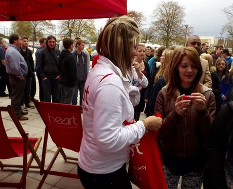 Heart Angels at Wiltshire College!