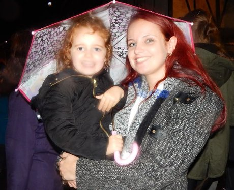 Heart Angels: Rochester Christmas Light Switch On